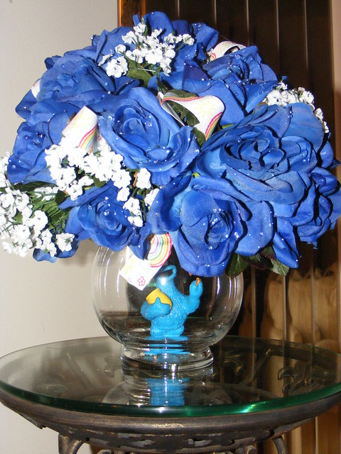 Cookie Monster Floral Centerpiece