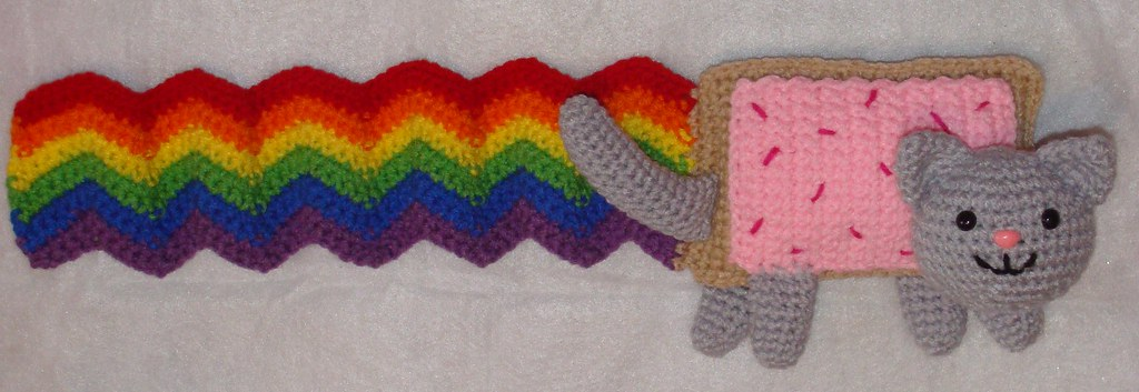Two Little C's: Obsessed with Nyan Cat | 353x1024