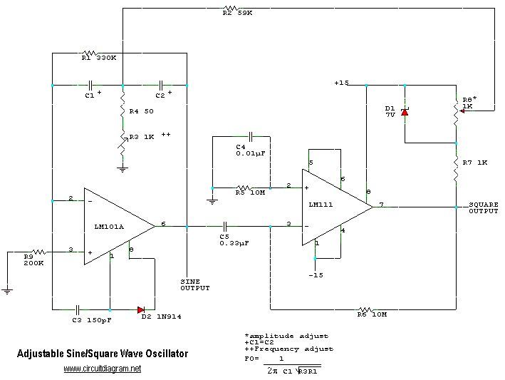 adjustable sine square wave oscillator noel mauricio flickradjustable sine square wave oscillator by ndcmauricio
