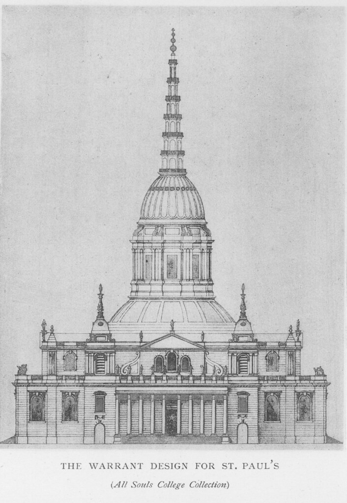 St. Paul's Cathedral (Warrant design) | Other title: St ...