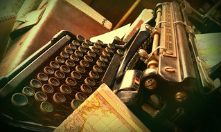 Typewriter at this awwwweome stationary shop at Brunswick | by Pauline Mak
