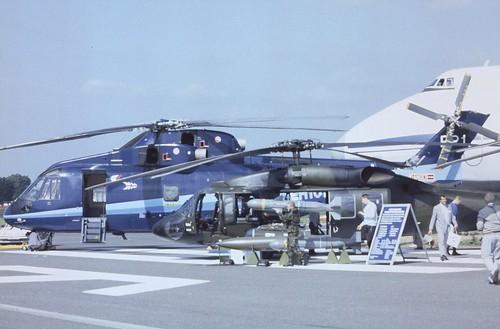 Westland WS-70L ZG468 Westland Helicopters, Farnborough UK, September 1988.   by ATom.UK