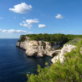 The blue and green of Menorca