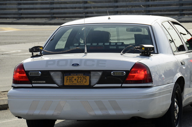 Village Of Tarrytown New York Police Department - 2008 Ford Crown Victoria Traffic Unit - Ghost Car -  040911