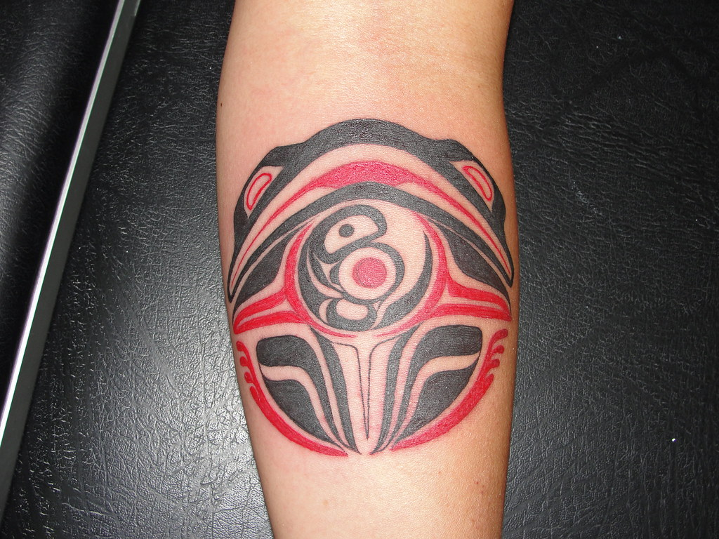 Haida Tattoo This Took A While But Came Out Nice This Was