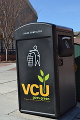 Big Belly Solar Trash Compactor