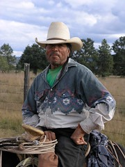 Vaquero - Cowboy; cerca de Refugio de los Pozos, al norte de Milpillas de la Sierra, Zacatecas, Mexico
