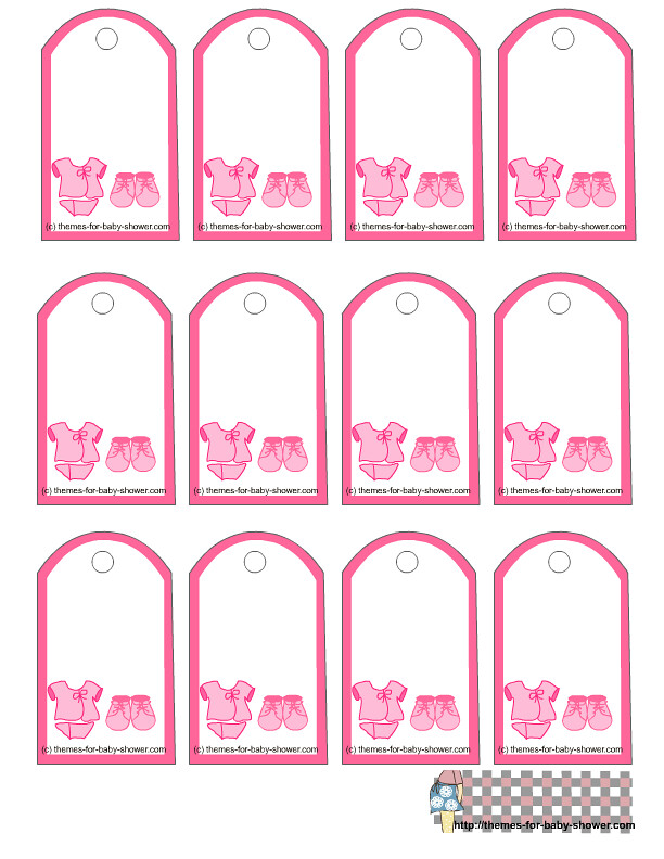 photo about Printable Baby Shower Gift Tags named Free of charge Printable Youngster Shower Present Tags by means of Boy or girl Shower Programs