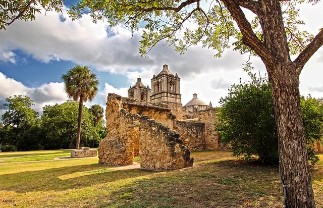 Mission Concepción - San Antonio, Texas