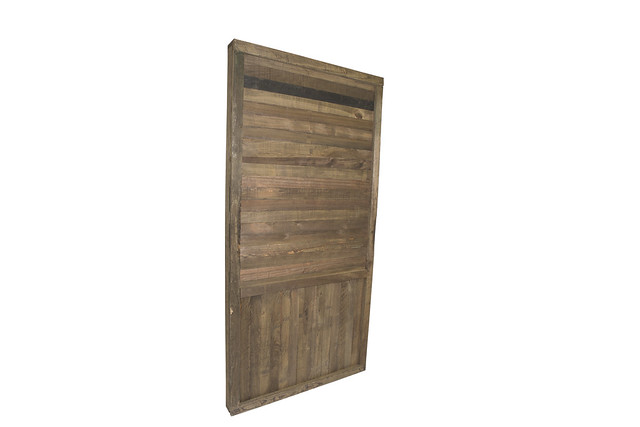 Rustic Cypress Wall