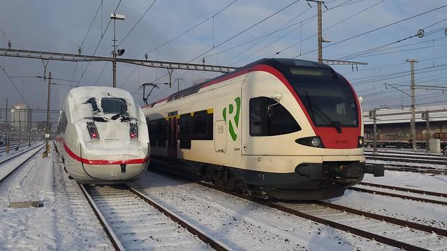 DB ICE4 9004 in Basel SBB GB