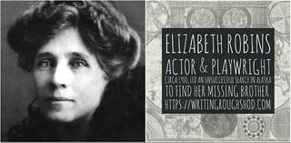 ELIZABETH ROBINS (C.E. RAIMOND) #100travelHERS | by sandrakaybee