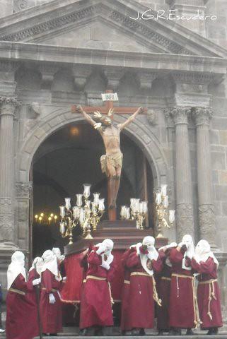 Stmo. Cristo de las Siete Palabras. Viernes 8 de abril. Desde la parroquia matriz de El Salvador
