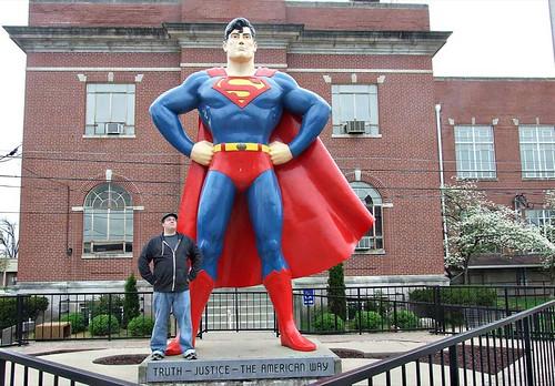 Superman statue