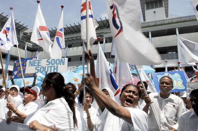 20. Enthu PAP supporter