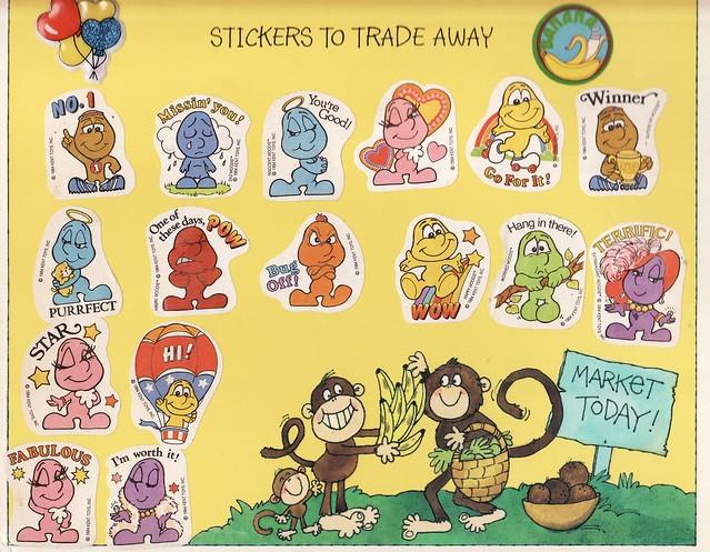 The Greatest Sticker Album Ever, 1983