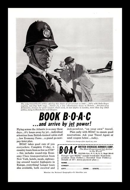 BOAC, 1959