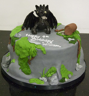 Bc4034 How To Train Your Dragon Cake A 4th Birthday