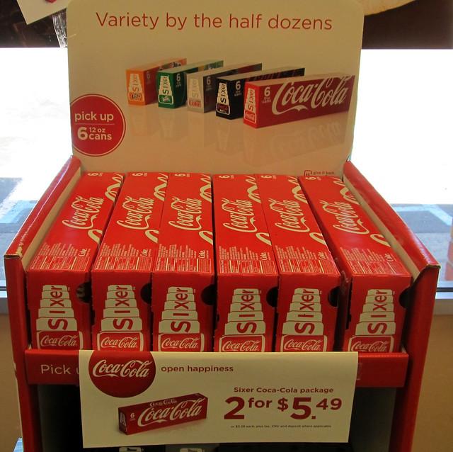Coca-Cola 6 Pack Cartons