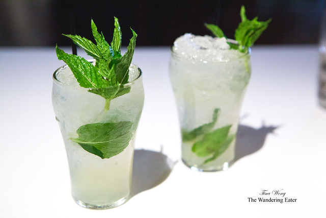 Ginger Swizzle - Ginger Beer, Mint, Lime