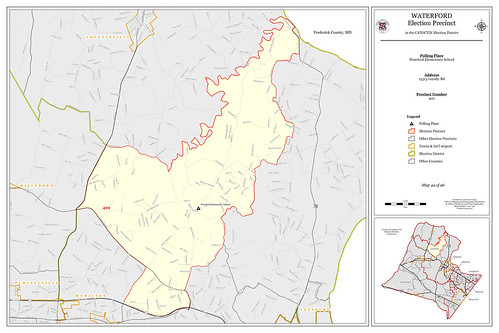 Precinct 402 - Waterford | by Office of Mapping, County of Loudoun