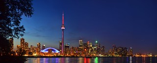 40MP Toronto Night Skyline Panorama | by Anton Bielousov