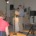 Leslie Scalapino & Mat Rotundo Reading May 8 2008 in Tucson Drawing Center then Desert Museum with Barbara