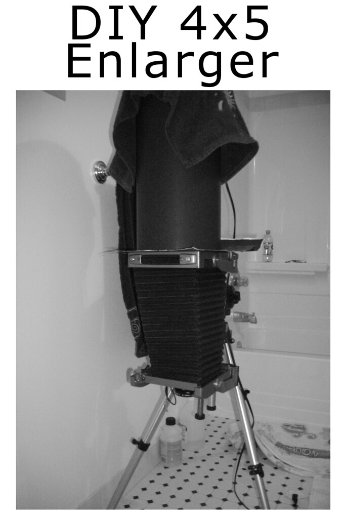 4x5 Camera as Enlarger (Guide) | This is for everyone who pr