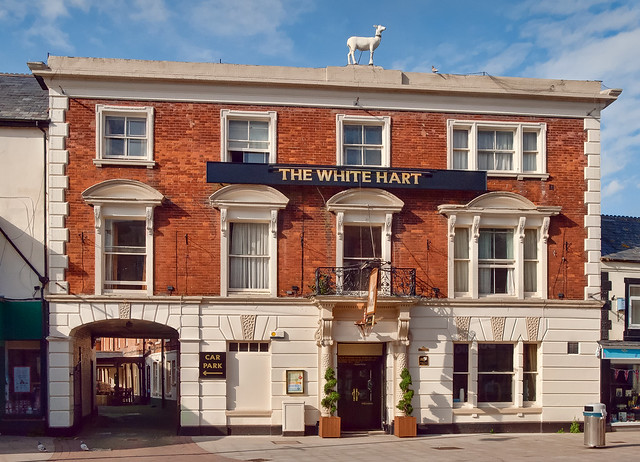 The White Hart Hotel in Andover, Hampshire