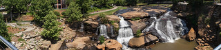 Reedy River Falls - panorama | by MarksPhotoTravels