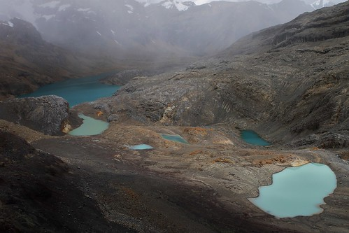 Lakes on the descent from Trapecio Punta. | by Pikes On Bikes