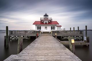 Roanoke Marshes Lighthouse - Manteo, NC | by eddit