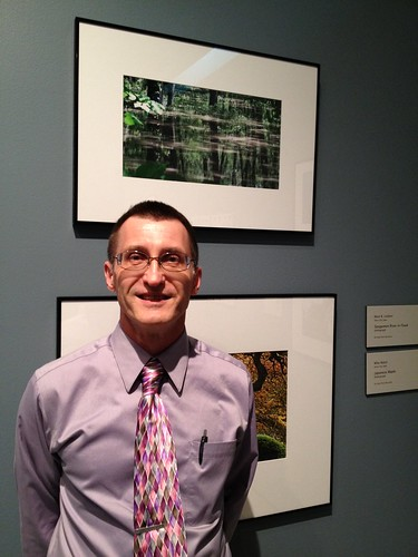 Hey! I'm in an art gallery! Sioux City Art Center, Briar Cliff Review reception | by broken thoughts