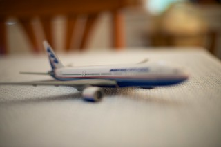 Model Boeing 777 at f/1.4 | by beltz6