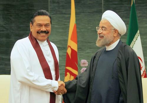Presidents of Sri Lanka and Iran Hold Bilateral Discussions   by President Mahinda Rajapaksa