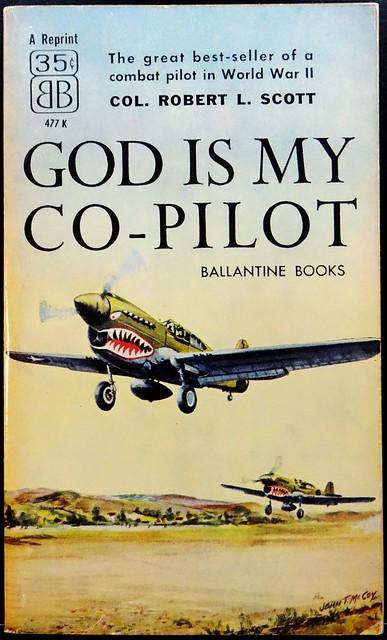 Ballantine 477K (1959). Cover by John T. McCoy, Jr.