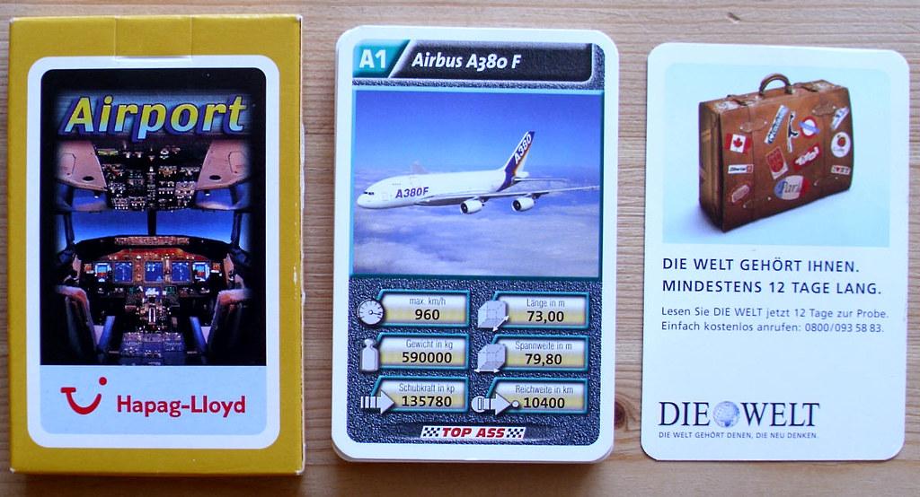 große Sammlung heiße Angebote Gutscheincodes ASS Airport 'Hapag-Lloyd' (2005) | RS: Die Welt Werbung ...