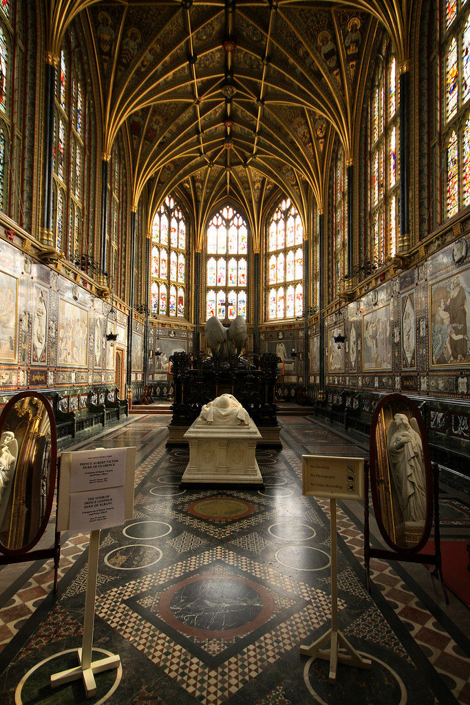 Albert Memorial Chapel Windsor Castle To The East Of St
