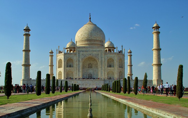 The Taj Mahal, Agra, India [Explored 410 on Saturday, May 19, 2012]