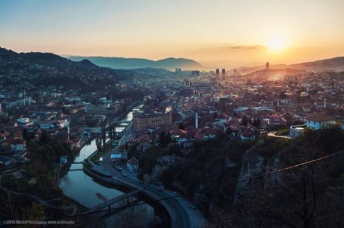 Sarajevo sunset   by M1key.me