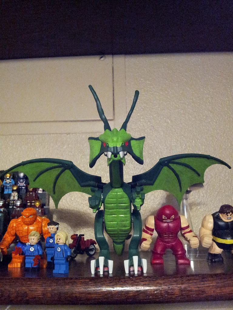 Custom Fin Fang Foom Beast Comic Made With Lego Bricks **Pre-Order**