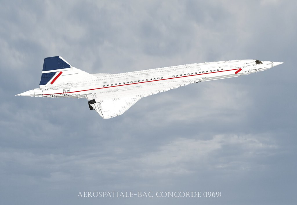 1969 to 2003 Aerospatiale-bac Concorde