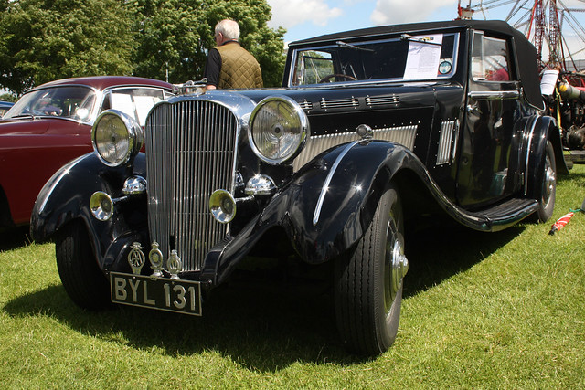 Brough Superior car