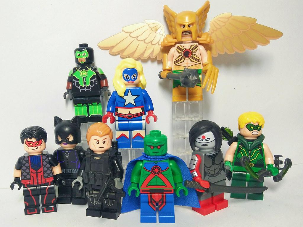 Justice League Of America New 52 Lego Jla New 52 Custom Flickr