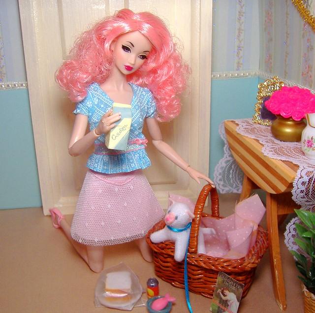 Amelie & Princess picnic #4