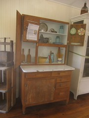 Hoosier cabinet for the kitchen