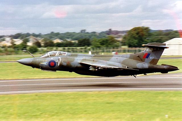 Buccaneer S2B XV867 RAF Fairford 26.07.93