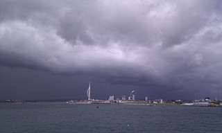 Weather front over Portsmouth | by nilexuk