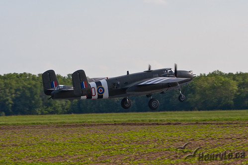 B-25 follow Lancaster home | by Henry_Lo