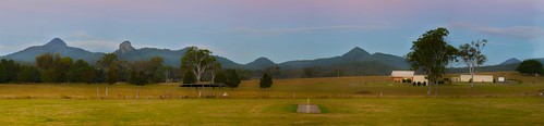 landscape town queensland panaroma peakcrossing purgacreek
